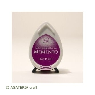 TUSZ Lilac Poses Memento Dew Drop Pad