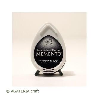 TUSZ Tuxedo Black Memento Dew Drop Pad