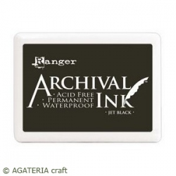 Archival Pad - Jet Black