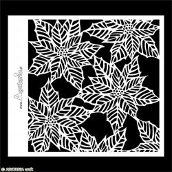 Stencil - Poinsettia