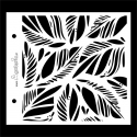 Stencil - feathers