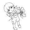 Agatka z kwiatkiem