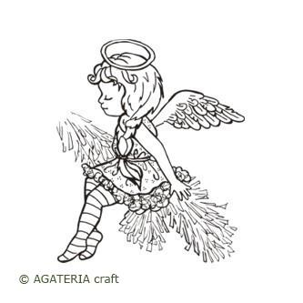 Aniołek na gałązce
