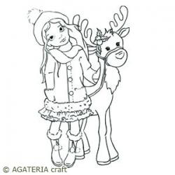 Agatka i renifer