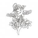 Aniołek z jemiołą
