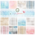 Magic Dreams -  set of 6 scrapbooking papers