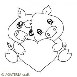 Świnki z sercem