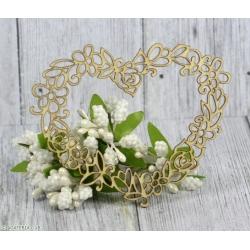 Serce w kwiaty