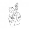 Aniołek z prezentem