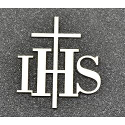 IHS z krzyżem ( wycinanka)