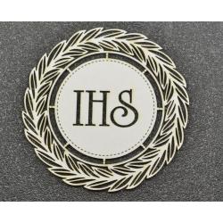 IHS w wianku
