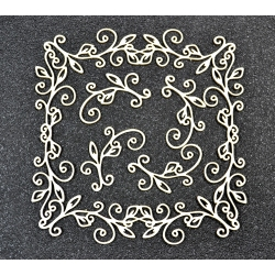 Chipboard - Frame and decors 6