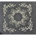 Chipboard - Rosette and corners 7
