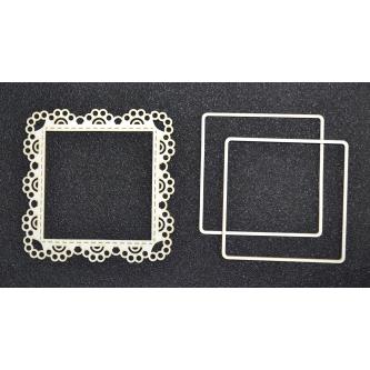 Shaker box - kwadrat 1