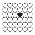 Background stamp - Hearts 2