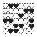Background stamp - Hearts 1