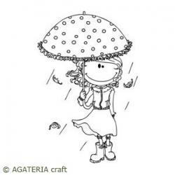 Matylda pod parasolką