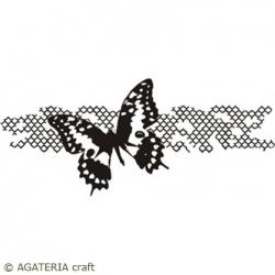 Stempel Koniczyna marokańska z motylem