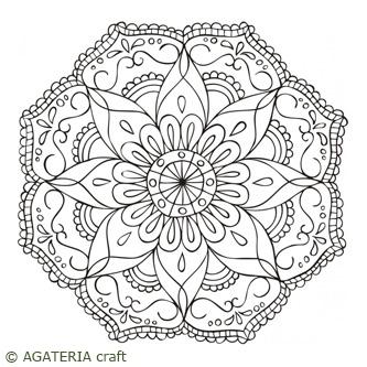 Mandala 1 (stempel)