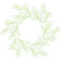 Wreath 1 stamp