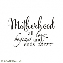 Motherhood all love...