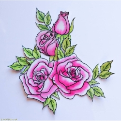 Rose - set 2 - big