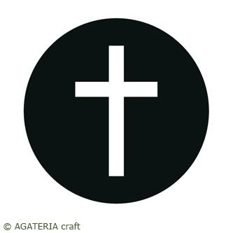 Hostia z krzyżem