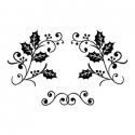 Dekory -  OSTROKRZEW (stemple do wykrojnika patchwork)