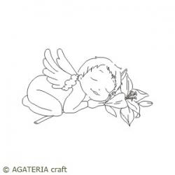 Aniołek z lilią