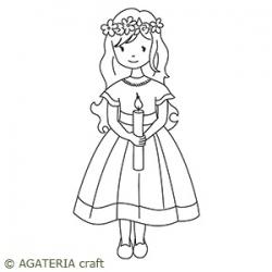 Dziewczynka ze świeczką