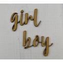 Girl, boy