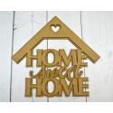 Home sweet home z daszkiem 3D