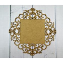 baza romb ornament