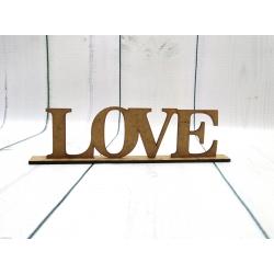 Love w podstawce