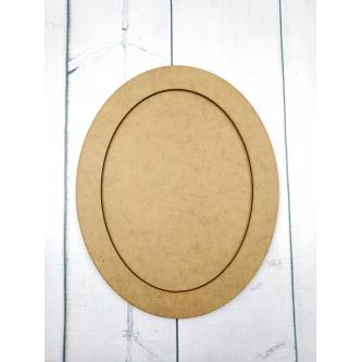 Baza ramka oval z obręczą
