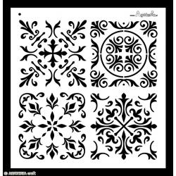Stencil - Flowers 2