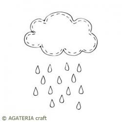 Płacząca chmurka