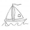 Statek - zabawka