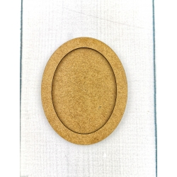 Ramka oval średnia