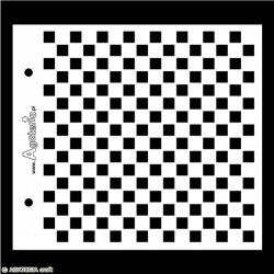 Maska szachownica (mała)