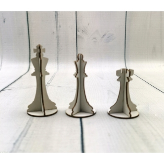 figury szachowe 3D