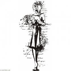 STEMPEL POLIMEROWY - GIRLS - HS 0504