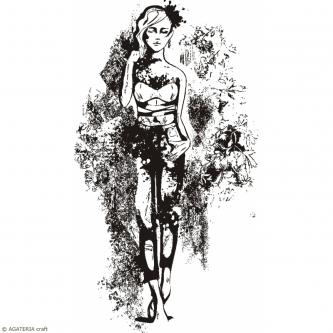 STEMPEL POLIMEROWY - GIRLS - HS 0505