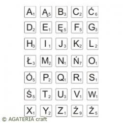 Alfabet Scrabble