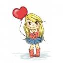Łucja z balonem