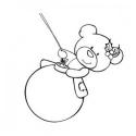 Bear on a bauble
