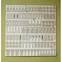 Alfabet -duże litery