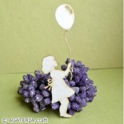 Dziewczynka z balonikiem 2 szt.