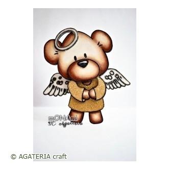 Miś aniołek