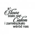 """A słowo stało się ciałem 2 (""""The word became permanent"""") in polish"""